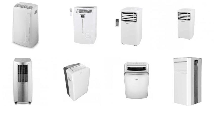aparatos climatizadores portátiles
