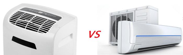 ¿Qué es mejor un aire acondicionado fijo o uno portátil?