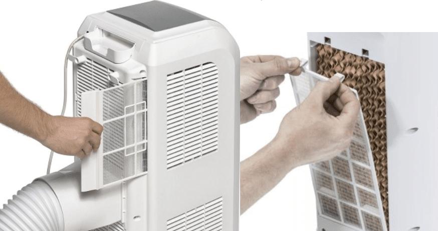 limpieza de filtros para pinguino de aire frio
